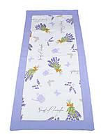 Дорожка на скатерть Лаванда, 50х150см, Эксклюзивные подарки, Столовый  текстиль