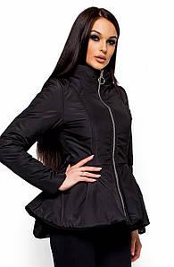 (S, M, L) Коротка чорна весняна куртка Antony