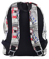 """Рюкзак подростковый кожаный London ST-28, """"YES"""", 555520, фото 2"""