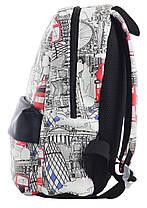 """Рюкзак подростковый кожаный London ST-28, """"YES"""", 555520, фото 3"""