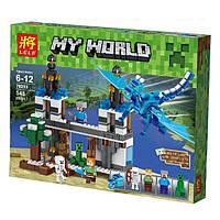 Конструктор Lele 79253 My World Minecraft (Майнкрафт) Синий дракон 548 дет., фото 1