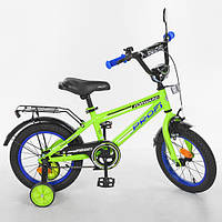 """Двухколесный велосипед 16"""" Profi Forward , зеленый"""