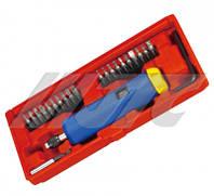 Динамометрическая отвертка 2-10Нм с комплектом бит JTC  4625A JTC, размер 290*100*70 мм
