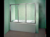 Шторка для ванны RAVAK AVDP3-120 сатин+grape