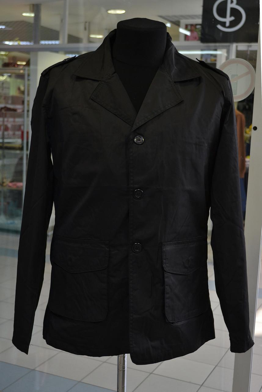 cf7448cce99b Мужской плащ Emporio Armani черный  1 800 грн. - Куртки и пуховики ...