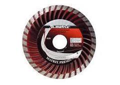 Диск алмазный отрезной Turbo (230х22.2 мм) для угловых шлифмашин Matrix 731839