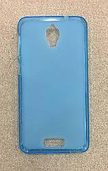Силиконовый чехол-накладка для Lenovo S660 (Blue)