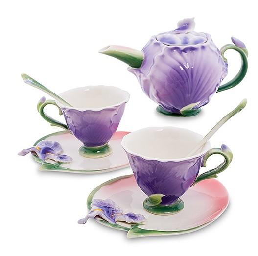 Фарфоровые чайные наборы Pavone