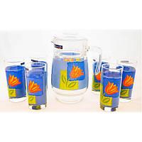 Набор питьевой Luminarc Melys Azur 7 приборов