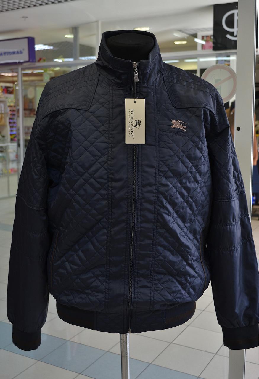 Мужская куртка Burberry синяя 3XL  1 700 грн. - Куртки и пуховики ... 7dd4299c55c
