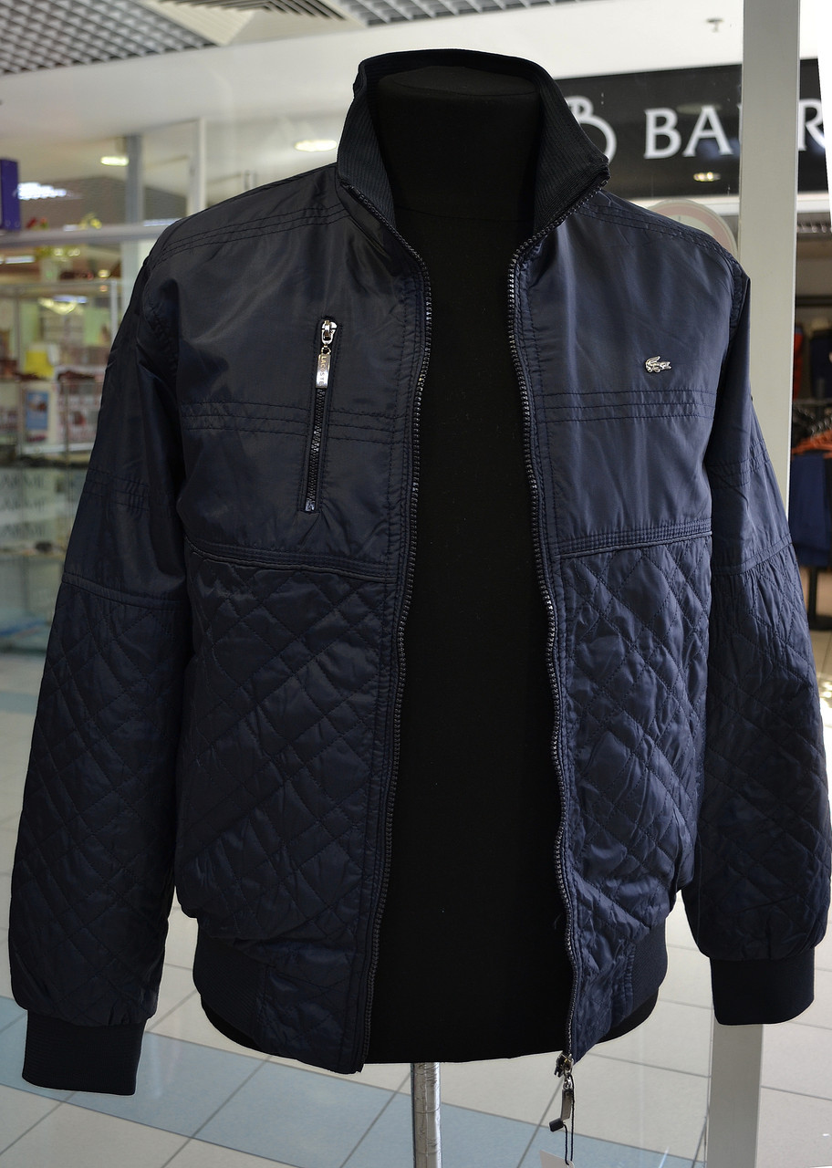 Мужская куртка Lacoste синяя XXL  1 700 грн. - Куртки и пуховики ... 6138a293f5d