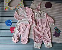 """Комплект для новорожденного """"четверка"""" на выписку, фото 1"""