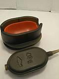 Карповая кормушка Метод Flat 40 грамм + пресовалка пластиковая с кнопкой, фото 4