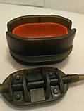 Коропова годівниця Метод Flat 40 грам + пресовалка пластикова з кнопкою, фото 3