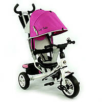 Велосипед детский трехколесный, Бест Трайк 6588, Best Trike колеса пена розовый