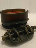 Коропова годівниця Метод Flat 40 грам + пресовалка пластикова з кнопкою, фото 2