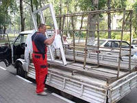 Доставка окон ПВХ по Киевской области собственным автотранспортом, фото 1