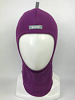 Весенняя шапка-шлем для девочки 1705-7