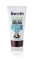 Увлажняющая маска для волосс аргановым маслом Inecto  Naturals Coconut Conditioner 150 ml