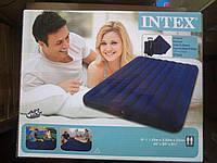 Велюровый надувной матрас Intex 68765