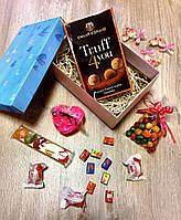 Подарочный набор с мылом роза и ароматизированными свечами