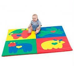 Детский мат-коврик для развития Сафари