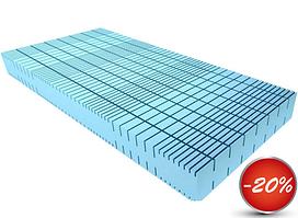 Безпружинний матрац Эргофлекс ( S1 ErgoFlex ) 80х200