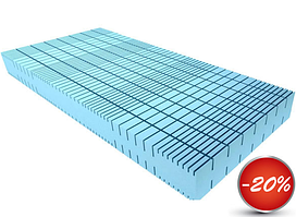 Безпружинний матрац Эргофлекс ( S1 ErgoFlex ) 180х200