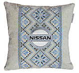 Подушка сувенирная в машину Nissan, фото 3