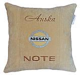 Подушка сувенирная в машину Nissan, фото 5