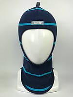 Весенняя шапка-шлем для мальчика 1705-22