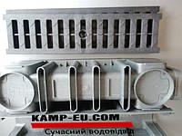"""Дренажная решетка с водоотводным лотком от магазина """"Водоотвод"""""""