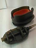 КОРОПОВА ГОДІВНИЦЯ МЕТОД Флет 60 грам + пластикова пресовалка з кнопкою., фото 2