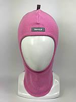 Весенняя шапка-шлем для девочки 1705-2