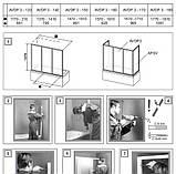 Шторка для ванны RAVAK AVDP3-180 сатин+transparent 40VY0U02Z1, фото 3