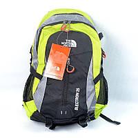 Велосипедний рюкзак The North Face салатового кольору