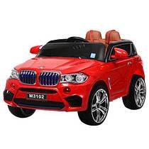 Детский электромобиль BMW X5 джип M 3102(MP4)EBLR-3  Гарантия качества.Быстрая доставка.