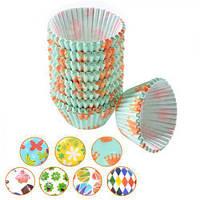 Формочки для кексов бумажные 8 см 500 шт (80500P)