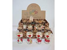 Бутылочки с пожеланиями  12шт 1021-5