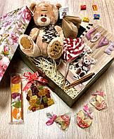 Подарочный набор с большим мишкой тедди