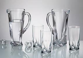 Набор питьевой Bohemia Quadro  7 приборов