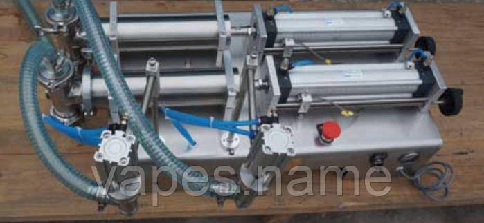 Пневматический Двойной  дозатор жидкости 10-300мл