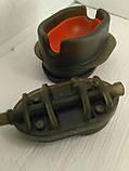 КОРОПОВА ГОДІВНИЦЯ МЕТОД Флэт100 грам + пластикова пресовалка з кнопкою., фото 2