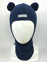 Весенняя шапка-шлем для мальчика 1702-9