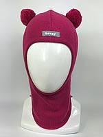Детская весенняя шапка-шлем для девочки 1702-3