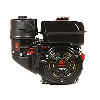 Двигатель WEIMA  WM170F-Q NEW, бак 5,0л., (бензин, 7.0 л.с.,шпонка, вал 19мм)