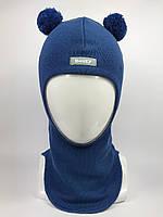 Весенняя шапка-шлем для мальчика Мишка 1702-12