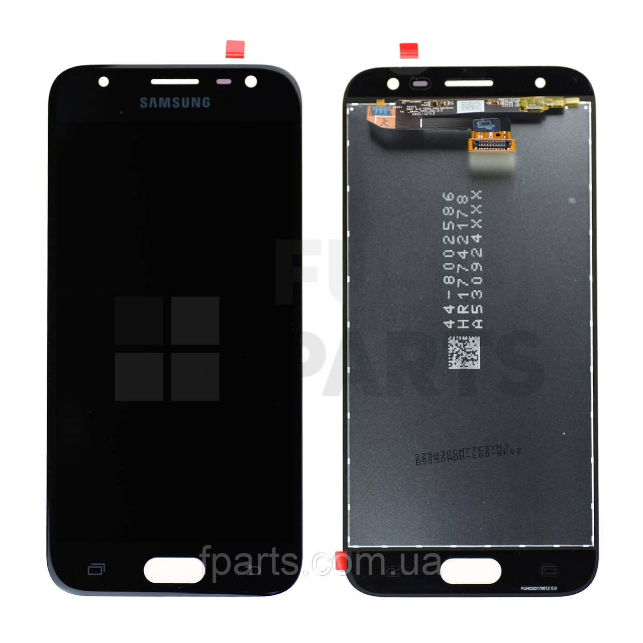 Дисплей Samsung J330 Galaxy J3 (2017) с тачскрином (Black) Original PRC