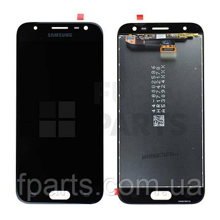 Дисплей Samsung J330 Galaxy J3 (2017) с тачскрином (Black) Original PRC, фото 2