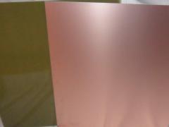 Стеклотекстолит FR4 фольгированный двухсторонний 100*100mm